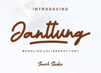 Janttung Font