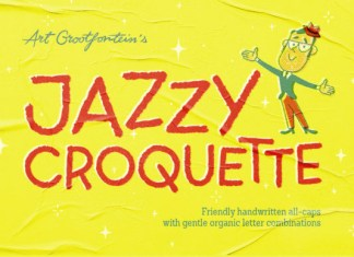 Jazzy Croquette Font