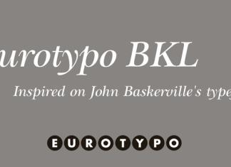 Eurotypo BKL Font