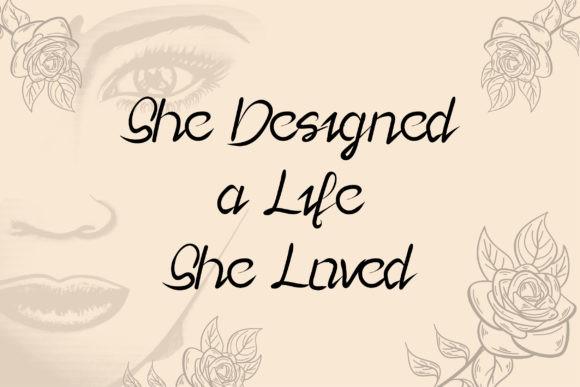 Lady Rose Font