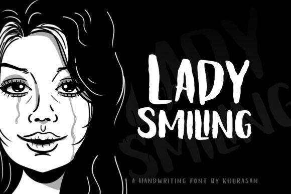 Lady Smiling Font