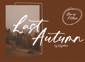Last Autumn Font