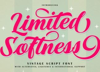 Limited Softness Font