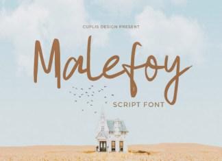 Malefoy Font