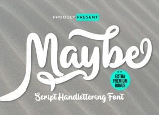 Maybe Font