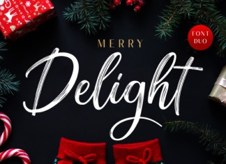 Merry Delight Font