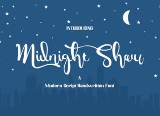 Midnight Show Font