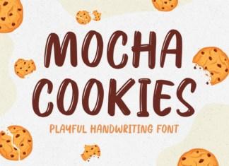 Mocha Cookies Font