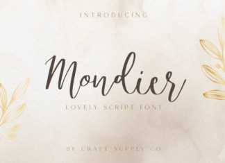 Mondier Font