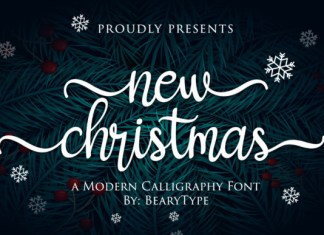 New Christmas Font