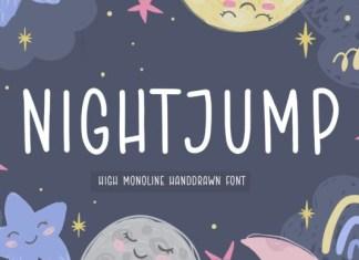 Night Jump Font