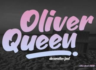 Oliver Queen Font