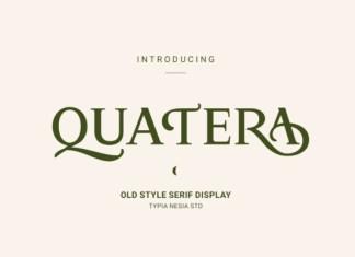 Quatera Font
