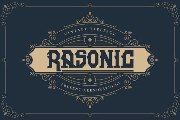 Rasonic Font