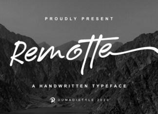Remotte Font