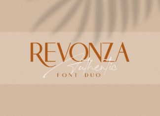 Revonza Authentic Font
