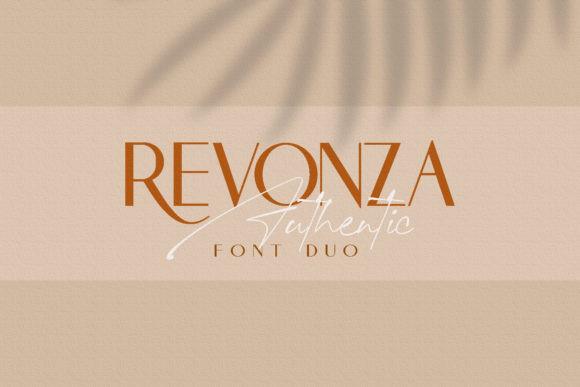 Revonza Authentic Font