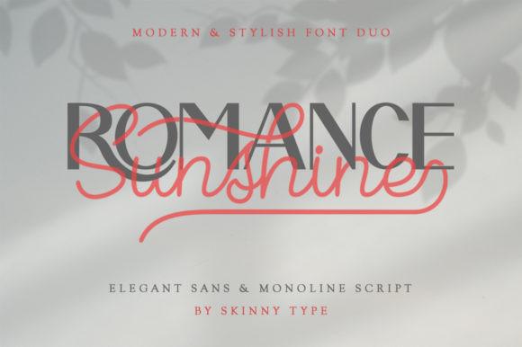 Romance Sunshine Font