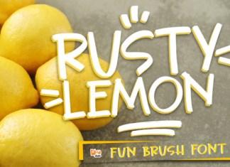 Rusty Lemon Font