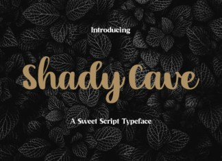 Shady Cave Font