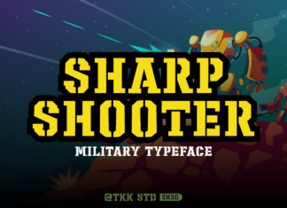 Sharp Shooter Font