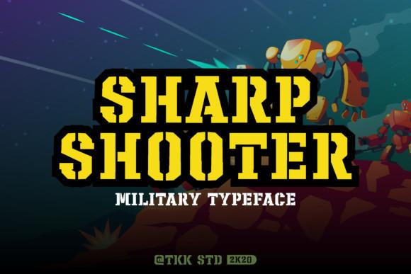 Sharp Shooter Font
