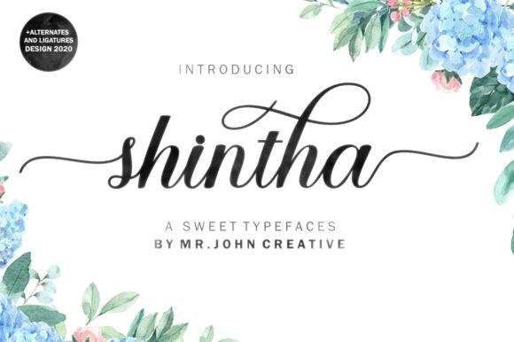 Shintha Font
