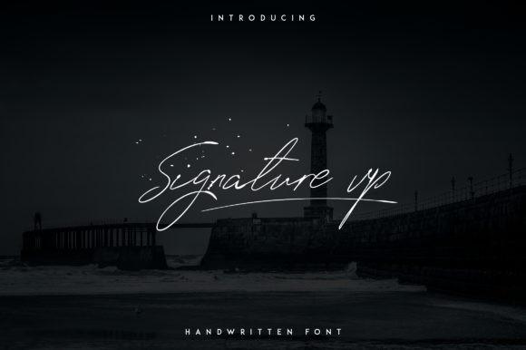 Signature Vp Font