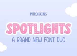 Spotlights Font