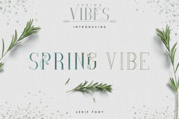 Spring Vibe Font