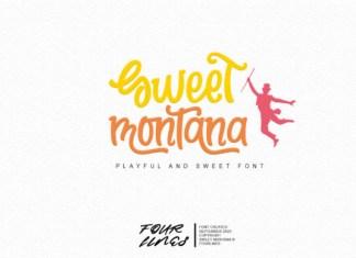 Sweet Montana Font