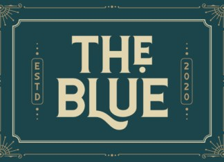 The Blue Font