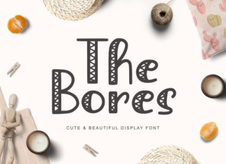 The Bores Font