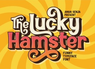 The Lucky Hamster Font