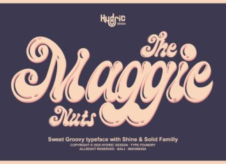 The Maggie Nuts Font