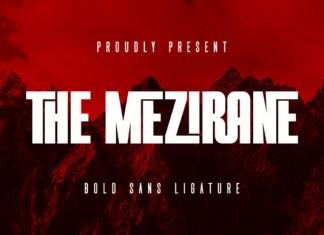 The Mezirane Font