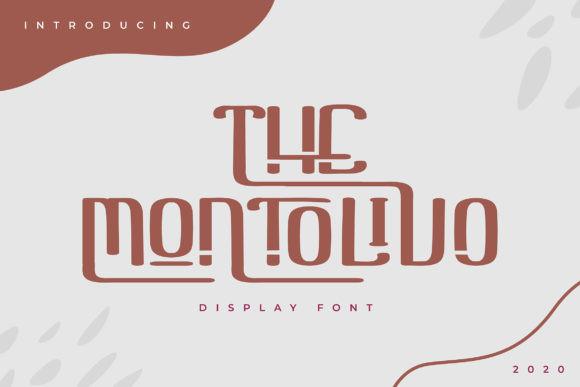 The Montolivo Font
