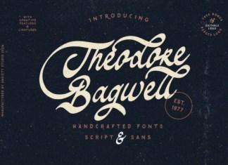 Theodore Bagwell Font
