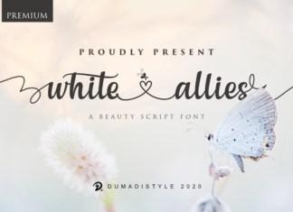 White Allies Font