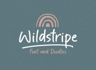 Wildstripe Font