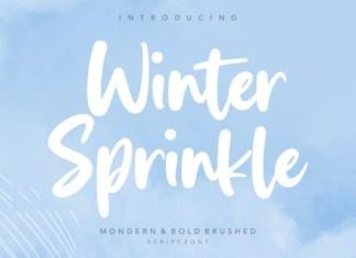 Winter Sprinkle Font