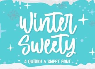 Winter Sweety Font
