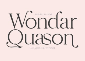 Wondar Quason Font