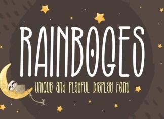 Rainboges Font