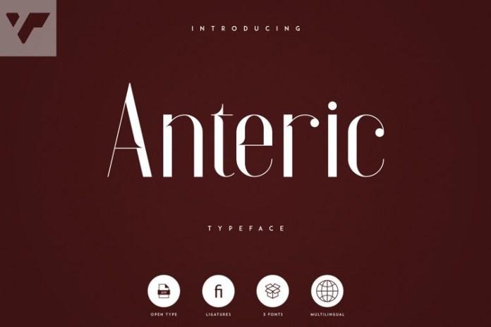 Anteric Font