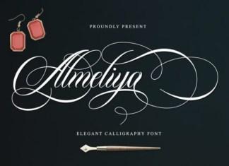 Almeliya Font