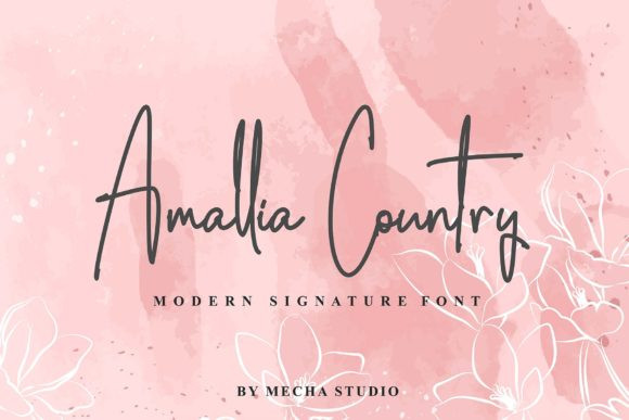 Amalia Country Font