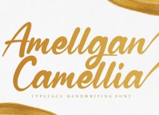 Amellgan Camellia Font