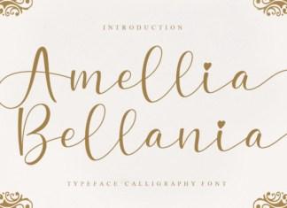 Amellia Bellania Font