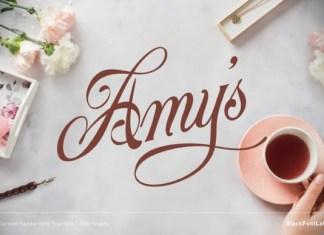 Amy's Font